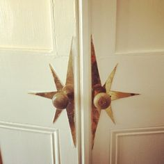 getting a handle on your Star!! Brilliant design for my home as it speaks to my soul star!!