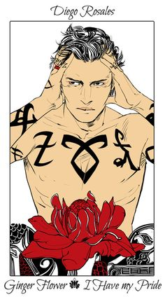 Diego Rosales - Ginger Flower (I Have my Pride): Cassandra Jean: Shadowhunter Flowers Series: *Character belongs to Author Cassandra Clare and her Dark Artifices series Cassandra Jean, Cassandra Clare Books, Clary Et Jace, Lord Of Shadows, Lady Midnight, Cassie Clare, O Hobbit, Shadowhunters The Mortal Instruments, The Dark Artifices
