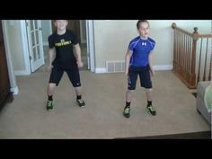 Kid 6 Minute Blaster/ Kid Workout #3 Could do this to some music for the Orbus kids PE :)