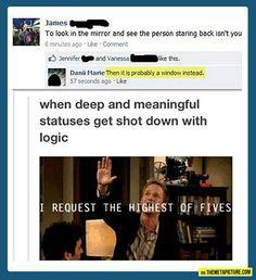 Logic beats all..