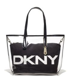 DKNY Handbag Bag Purse Tote Quilted Logo Large Black | Dkny ...