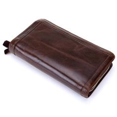2017 Genuine Leather Men Wallets New Man Wallet Double Zipper Men Purse Fashion Male Long Wallet Man's Clutch Bag NB015 -*- AliExpress Affiliate's buyable pin. Details on product can be viewed on www.aliexpress.com by clicking the image #PhoneWalletCases