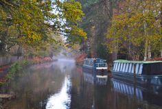 Basingstoke Canal, Hampshire/Surrey England
