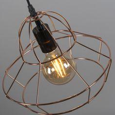 Lámpara colgante FRAME D  cobre #interiorismo #decoracion #iluminacion
