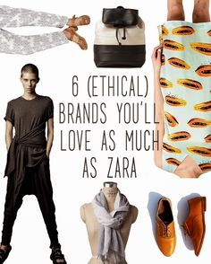 "6 (ETHICAL) STORES YOU'LL LOVE AS MUCH AS ZARA | Refinery29 just published an insanely-popular post--""6 Stores You'll Love as Much as Zara""--featuring fast-fashion brands fueled by slave labor. Here is my response. Because fashion should be empowering, not exploitative~"