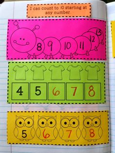 The Therapeutic Teacher: Kinder Interactive Math Journals