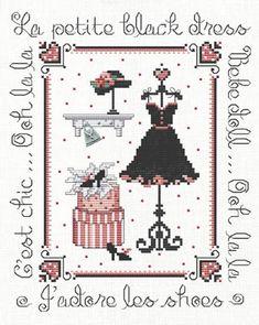 Ooh La La! - Cross Stitch Pattern