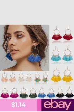 Good Korean Hot Fashion Jewelry Hand Knitting Woollen Earrings Elegant Round Flower Earrings Beach Holiday Party Earrings For Women Jewelry & Accessories