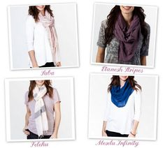 SPRING SCARVES! beauties. // lovin the feature on linenlaceandlove.com today!! thanks Jen & Jess!