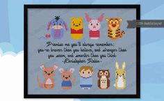 This sweet Winnie the Pooh pattern.