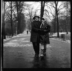 Piotr Skrzynecki i Ewa Demarczyk, 1966, Kraków
