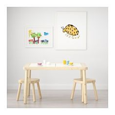 IKEA - FLISAT, Children's table, , This children's desk becomes both a practical place for arts and crafts, as well as a useful storage solution, if completed with TROFAST storage boxes in different sizes and colors.With TROFAST storage boxes underneath the lids, it's easy for your child to reach their toys – and clean up in a jiff!