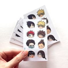 This cute Naruto chibi art sticker sheet is perfect for your stationary, cards, gifts, penpal, planner needs. :)  You will receive 1 glossy sheet.