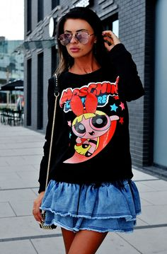 Base Clothing, Pierre Cardin, Powerpuff Girls, Stylish Outfits, Vogue, Sweatshirts, Jackets, Shopping, Clothes