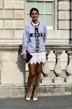 I know this jumper has done the rounds but here's a name to put to the face... it's Chloe Sachdev - buyer for the new Aussie online fashion boutique musstard.com :)