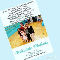 Articulate Motions Dance Academy 2016