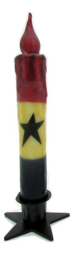 Americana Taper Candle