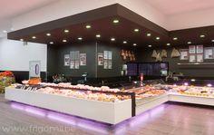 De Kleine Bassin butcher s shop by Frigomil Kortrijk Belgium De Kleine Bassin butcher's shop by Frigomil, Kortrijk – Belgium Meat Recipes For Dinner, Easy Meat Recipes, Meat Loaf Recipe Easy, Shop Interior Design, Retail Design, Store Design, Carnicerias Ideas, Poultry For Sale, Gods Kitchen