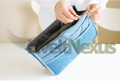 9 best electronics images on pinterest consumer electronics slim bag in bag handbag organizer in multiple colours fandeluxe Image collections