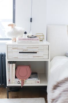 bedside table #theeverygirl