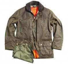 354a1de6803 The Jack Spade   Barbour collaboration jacket Wax Jackets