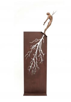 Arraigos, chulisimo escultura en bronce