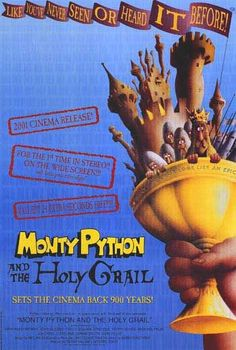 """Monty Python and the Holy Grail """"She turned me into a newt!"""" #montypython #movies"""