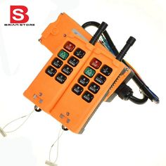 134.00$  Buy now - http://ali0k0.worldwells.pw/go.php?t=32762254319 - 380VAC 2 Transmitters 8 Channels One Speed Truck Hoist Crane Winch Radio Remote Control System Controller 134.00$