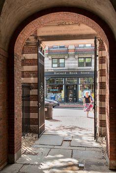 Harvard Yard - Harvard Book Store.