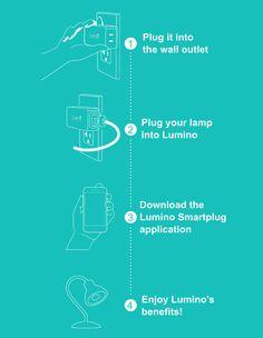 Lumino Smartplug : The new way to wake up!   Indiegogo