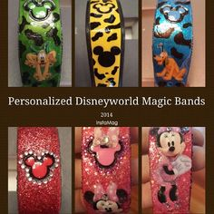 Has anyone decorated their Magic Bands? Please show us the pictures! - Page 24 - The DIS Discussion Forums - DISboards.com
