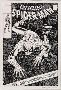 amazing-spiderman-100-romita-recreation.jpg (2063×3000)