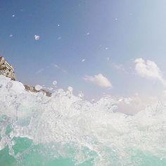 Missing morning swims in Mexico ♀️♀️ @juliajetsetting travel blogger waves water ocean go pro pics #travel #wearetravelgirls #girl #travelinstyle #traveltheworld #gopro #deltaone #backpackerstory #deltamedallion #iamatraveller #surfsup #instapassport #wanderlust #explore #mood #unboundedpeople #natgeo #beautifuldestinations #travelphotography #travelgram #sheisnotlost #traveling #wanderlustlover #condenast #vlog #condenasttraveller #traveller #ilovetravel cancun surf swim
