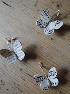 sheet music butterflies