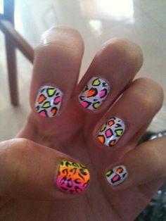 Cheetah Print Nail Tutorial