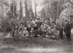 Group including Marie Feodorovna and Alexander III