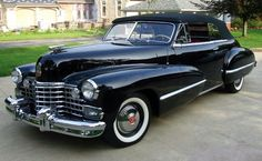 1942 Cadillac Series 62 Convertible Club Coupe...