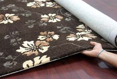 Botanical - Brown For more info Visit us:http://www.therealrugcompany.co.uk/ #Home #InteriorDesign #RealRug