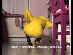 Schwitzanzug (PVC) und Gummistiefel / Trailer 621