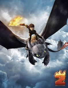 How To Train Your Dragon 2 Poster Hiccup Toothless