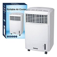 BENROSS 42240 PORTABLE AIR COOLER, 60 W [ENERGY CLASS A] 220 VOLTS NOT FOR USA  For more details visit https://www.worldwidevoltage.com/benross-42240.html