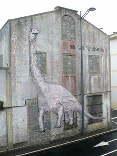 Escif In The Azores - unurth | street art