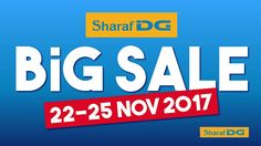 Offers in Dubai: The Big Sale at Sharaf DG