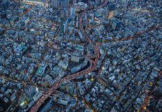 Edobashi JCT Aerial View