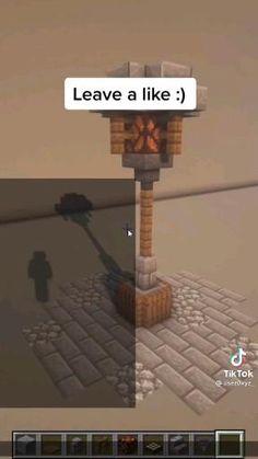 Minecraft Light, Easy Minecraft Houses, Minecraft House Tutorials, Minecraft Houses Blueprints, Minecraft Room, Minecraft Funny, Minecraft Decorations, Amazing Minecraft, Minecraft Videos