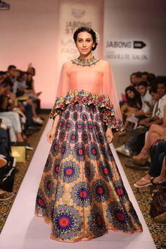 Karishma Kapoor for Neha Agrawal | Lakme Fashion Week 2015