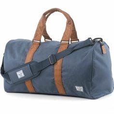 4a99cae407 Herschel Novel Poly Duffel Bag (Navy Tan)  79.95 Herschel Bag