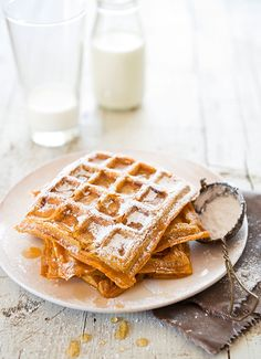 From chicken and waffles to strawberries and cream, brilliant breakfast ideas for the weekend.