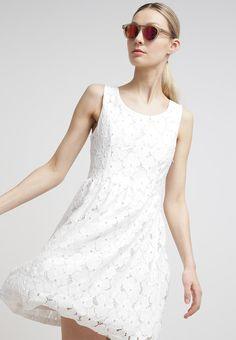 Minimum - ELLEN - Sommerkjole - white Wedding Dresses, Wedding Ideas, Fashion, Dress, Bride Dresses, Moda, Bridal Gowns, Fashion Styles