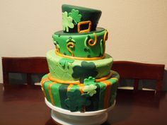 St. Patricks Day - Just wanted to make a St. Patricks day cake. And this is what I came up with.